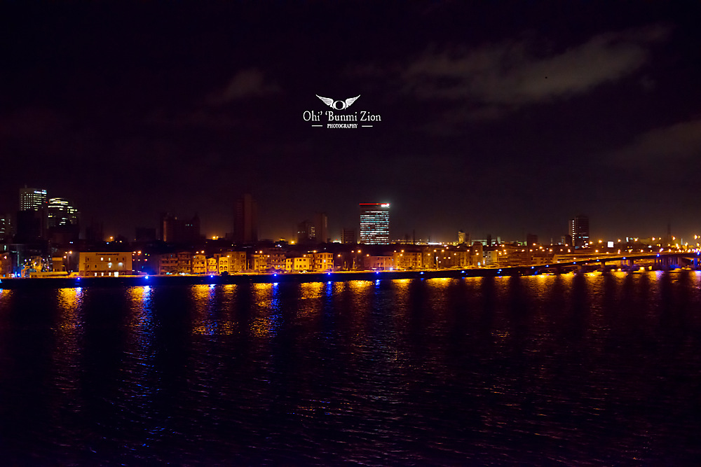 photoblog image Lagos at night