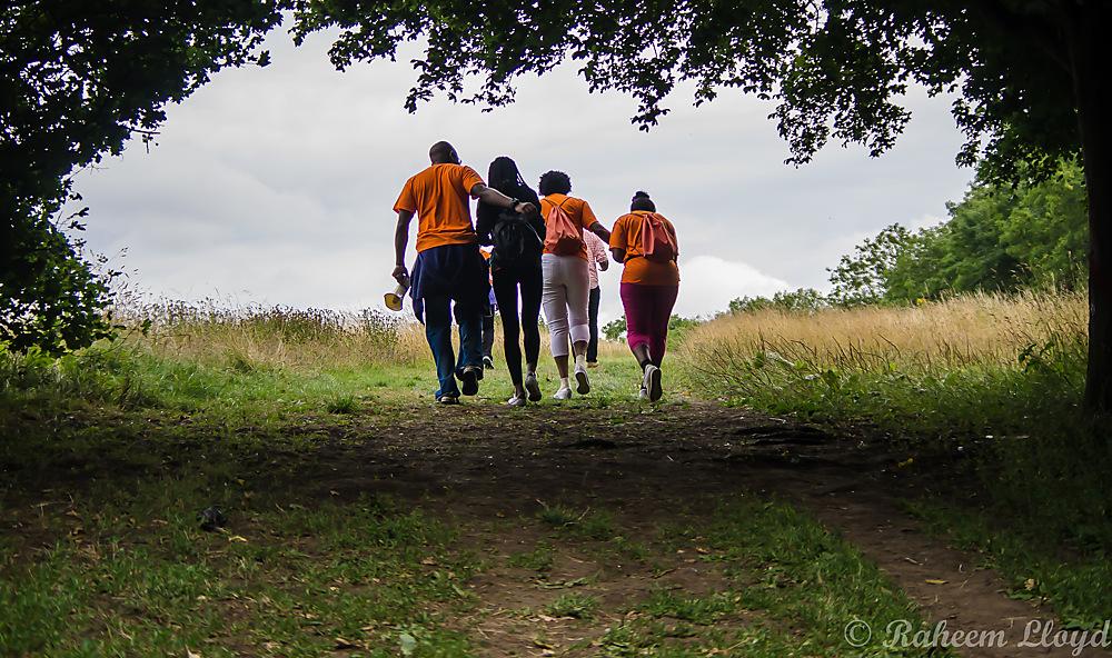 photoblog image Uphill