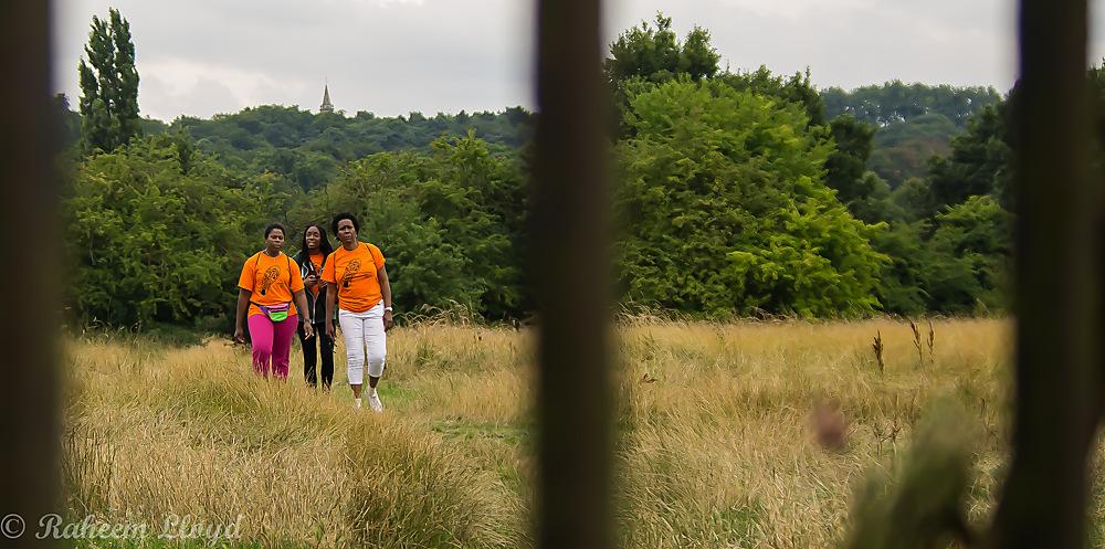 photoblog image Long walk