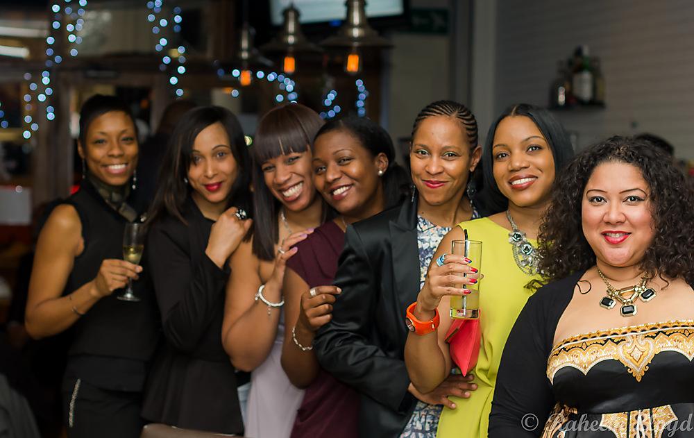 photoblog image Birthday girl with her crew