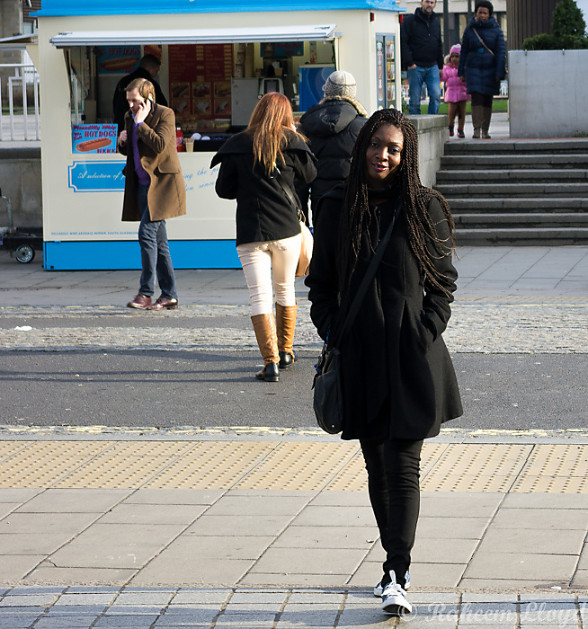 photoblog image Stepping