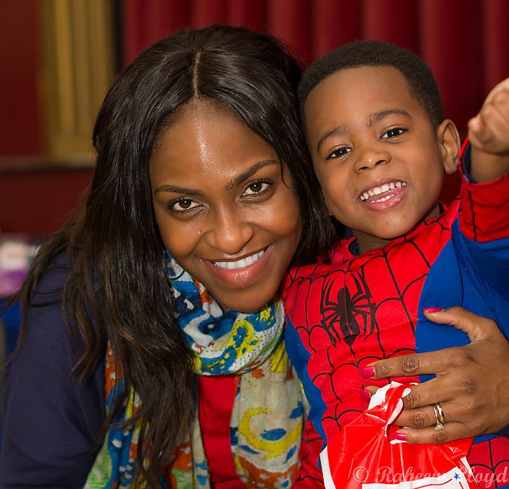photoblog image Spider man and his mum