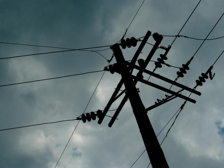photoblog image Electric Sky