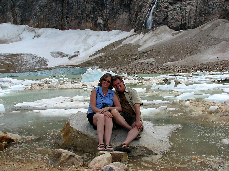 photoblog image Around The World - P & P At MT. E - Glacier Lake