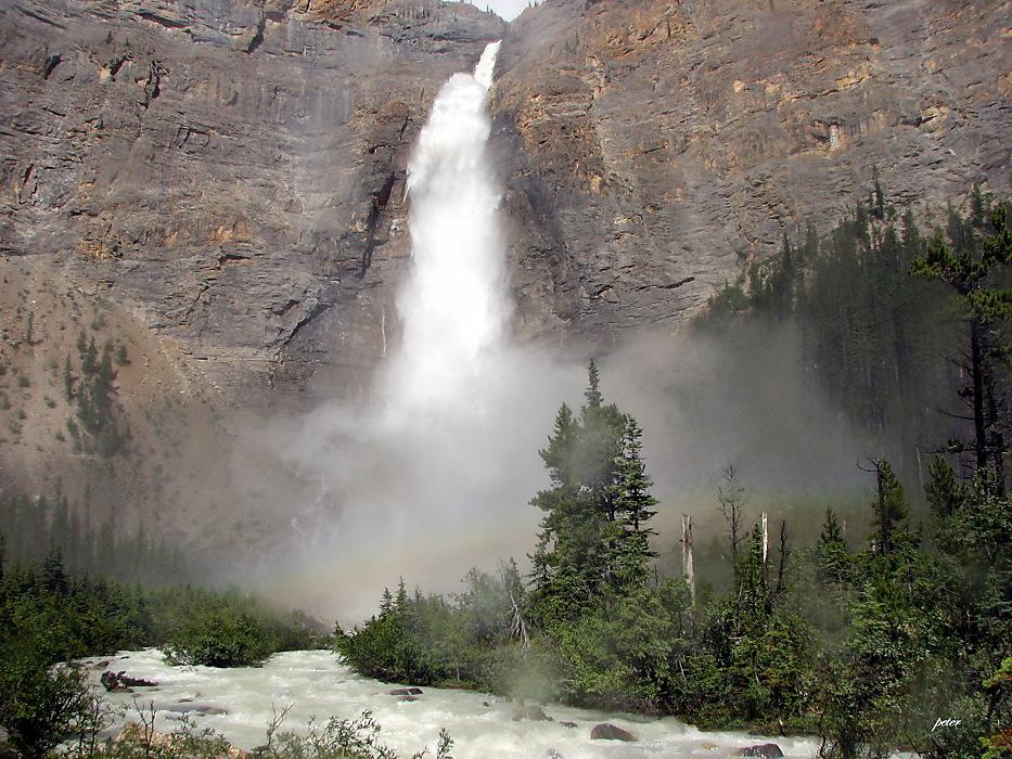 photoblog image Around The World - Takakkaw Falls Rainbow