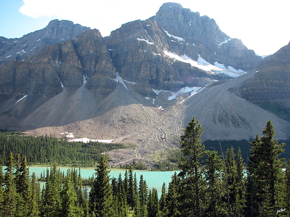 photoblog image Around The World - Castle Mountain - Bow River Valley