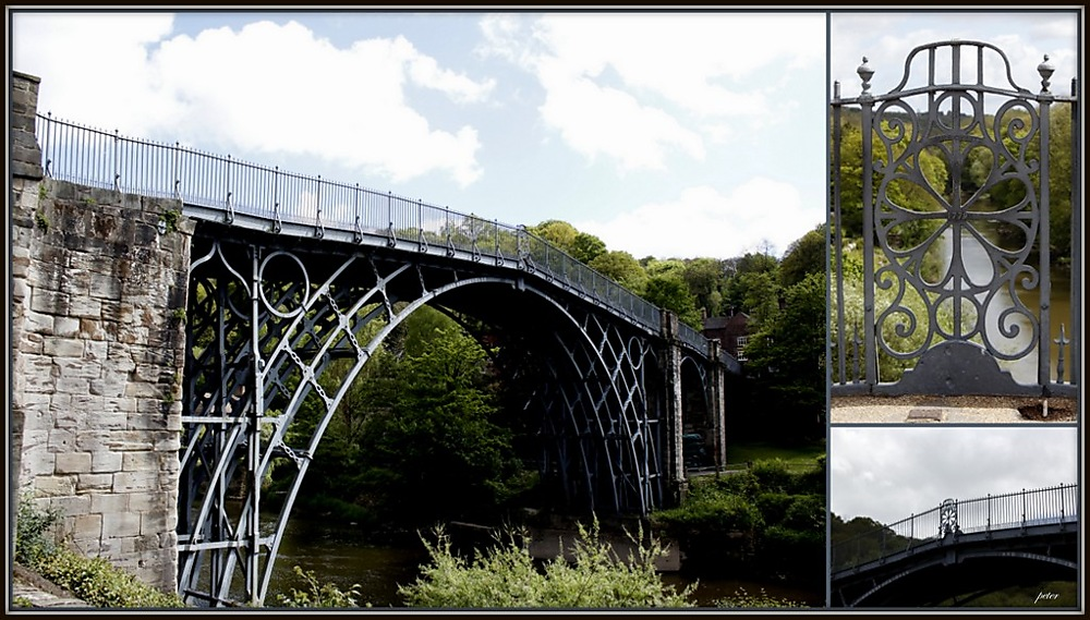 photoblog image The First Iron Bridge in the World, Shropshire Village