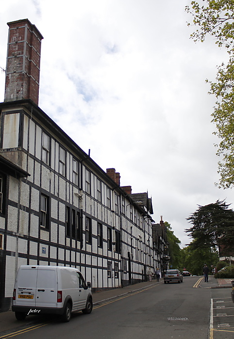 photoblog image Many Timber Frame and Plaster Buildings in Droitwich