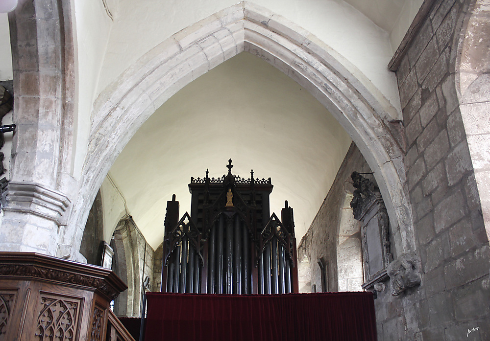 photoblog image The Organ Pipes... Church of St Andrew