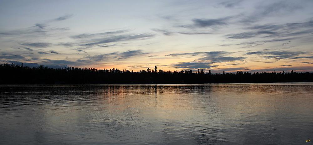 photoblog image Sunday Skies... Twilight at Remi Lake