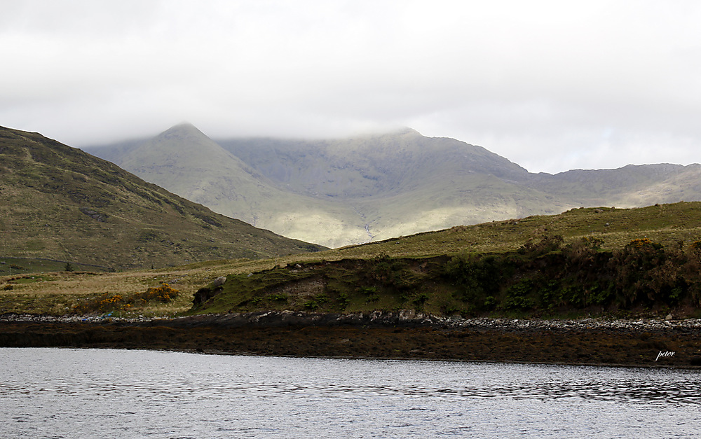 photoblog image A Volcanic Crater in the Mweelrea Mountain Range
