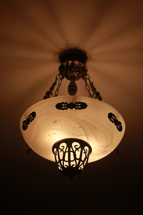 photoblog image Hanging lights