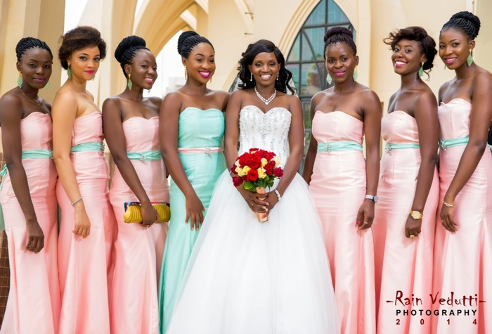 photoblog image bride and her bridesmaids.jpg