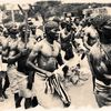 PROCESSION 1 marching through the streets of Calabar