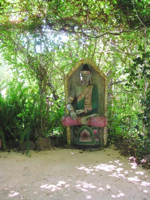 photoblog image Buddha Garden Meditation