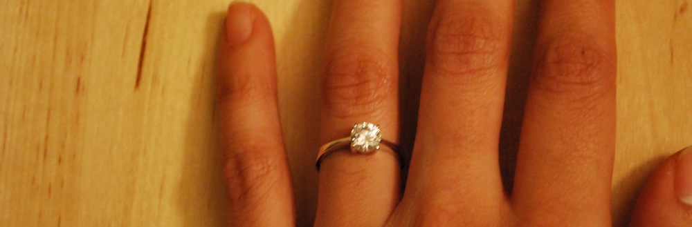 photoblog image He proposed and I said, Yes