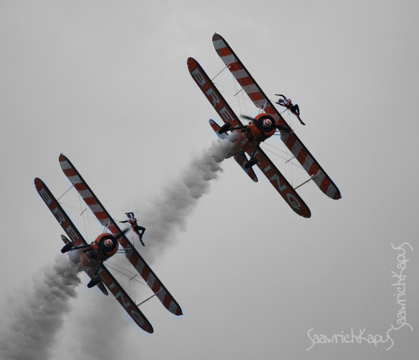 photoblog image Bretling Wingwalkers