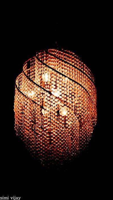 photoblog image chandelier of light in d dark