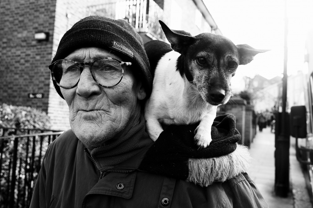 photoblog image Man with Dog part 2