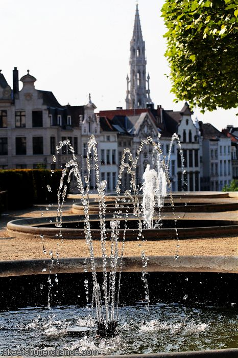 """photoblog image """"The fountain infront of the building"""""""