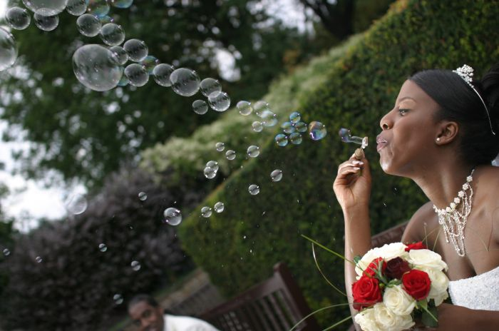 photoblog image Forever blowing bubbles