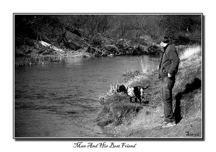 photoblog image Man And His Best Friend