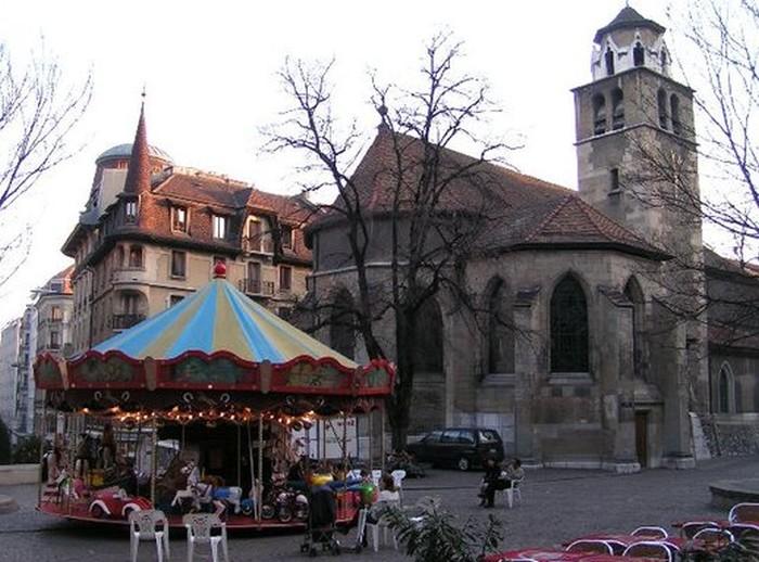 photoblog image Geneva, Church of the Madeleine