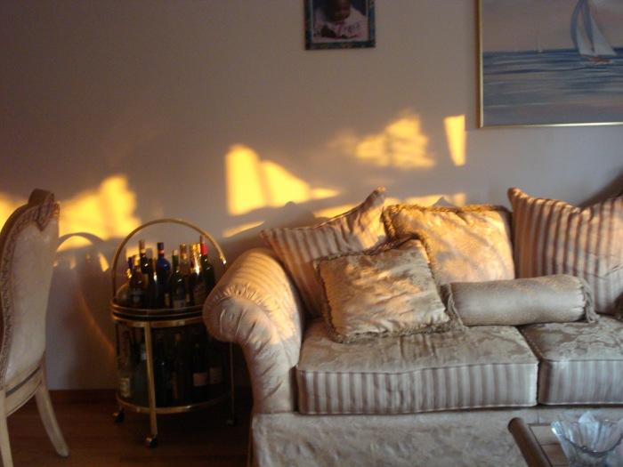 photoblog image Living room sunset
