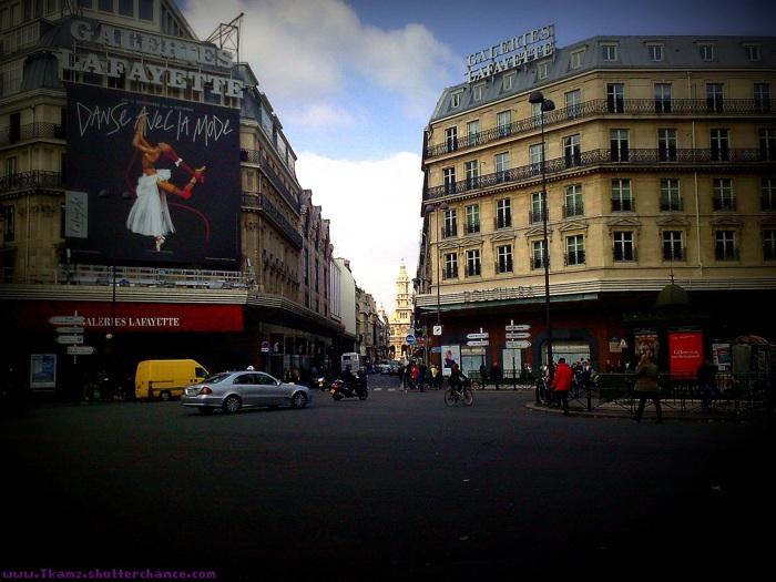 photoblog image Galerie Lafayette... Paris