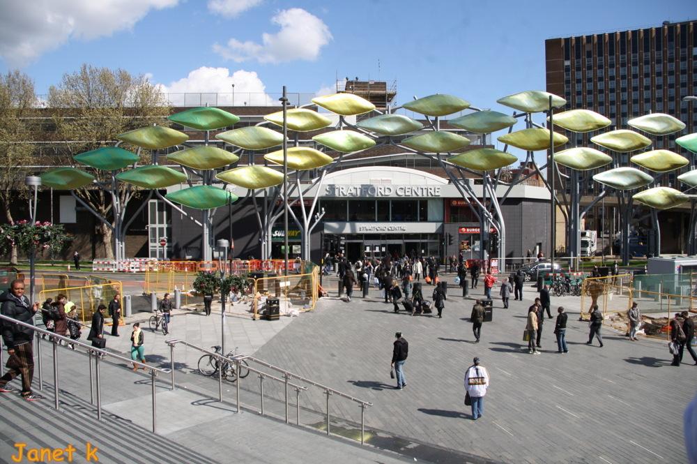 photoblog image Stratford Centre, Westfield