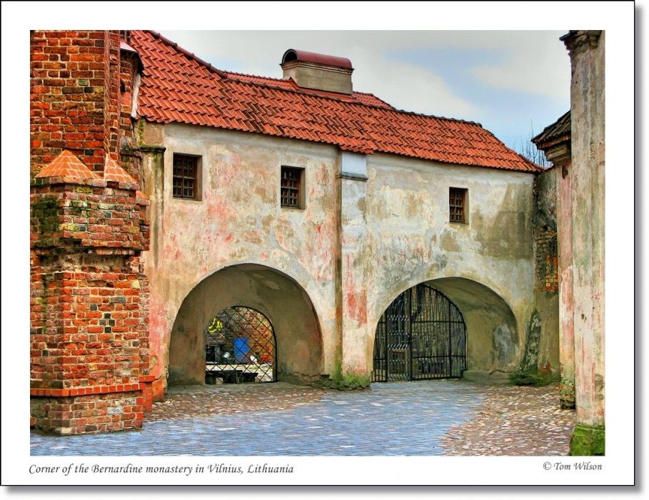 photoblog image Courtyard of the Bernardine Monastery, Vilnius