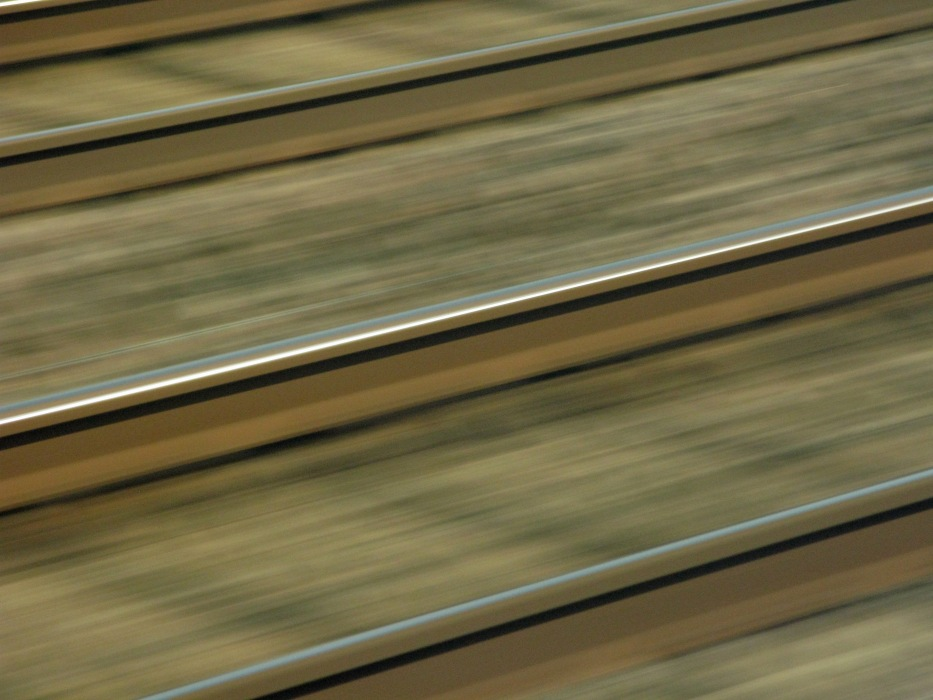 photoblog image I'm on the train