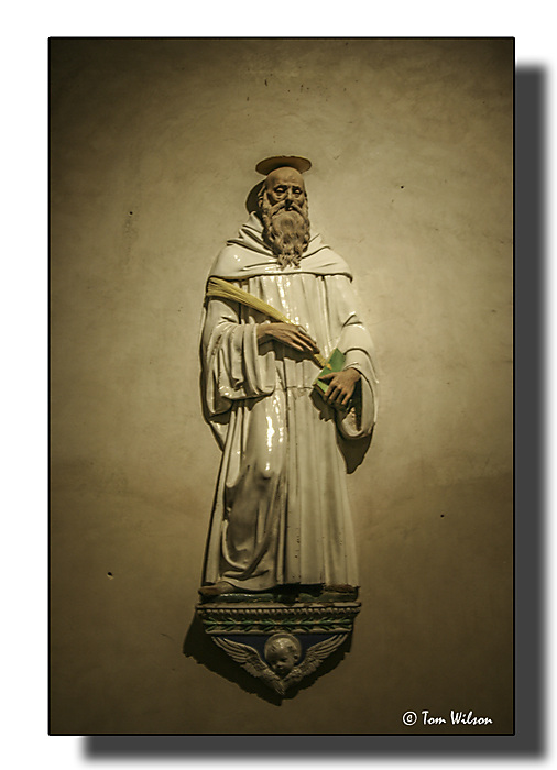photoblog image Figure of a saint