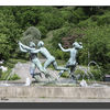 Helsiongborg, park fountain.