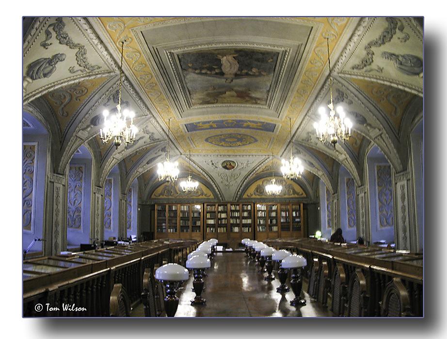 photoblog image Rare books reading room
