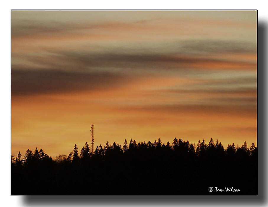 photoblog image Another Swedish sunset