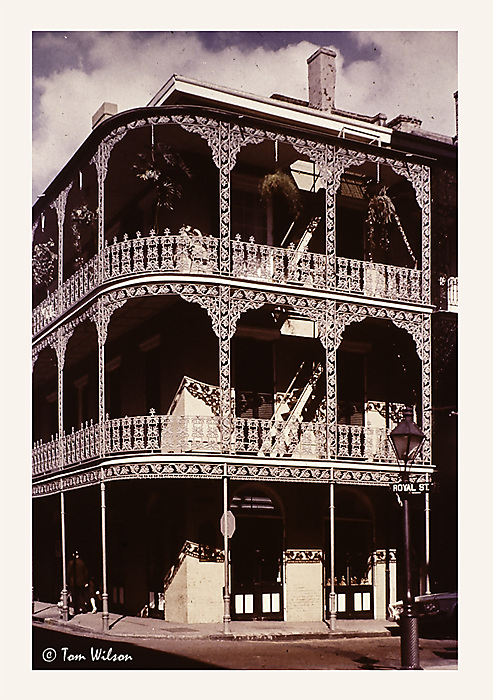 photoblog image New Orleans - 1970 - Wrought iron