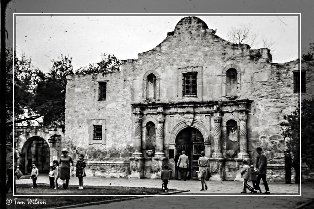 photoblog image Chapel of the Alamo Mission, San Antonio, Texas.