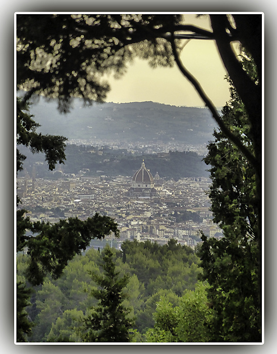 photoblog image Florence from Fiesole