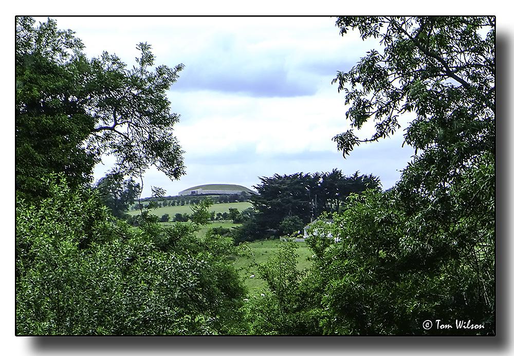 photoblog image Newgrange - the tomb from the visitors' centre