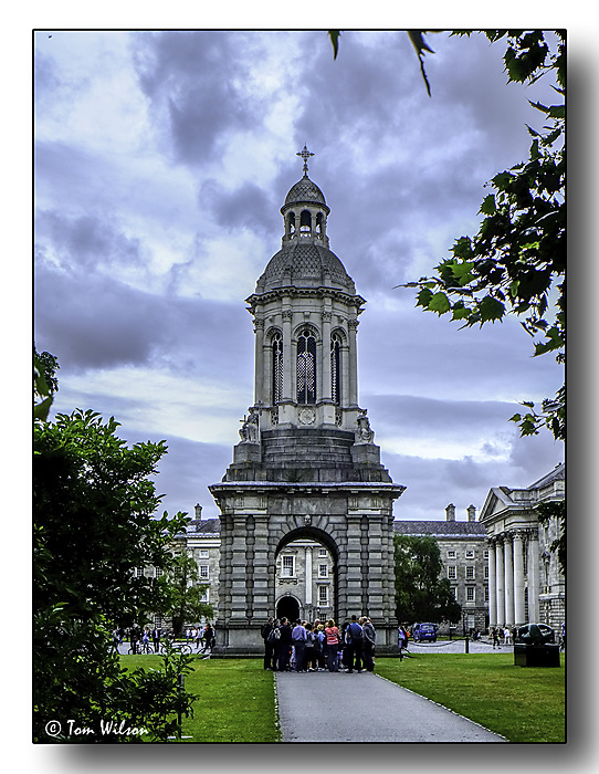 photoblog image Trinity College campanile
