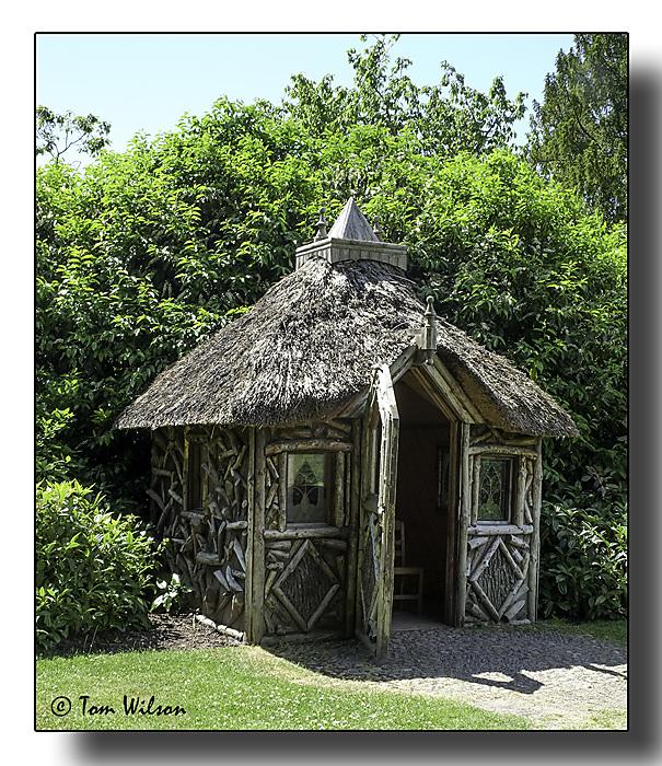 photoblog image Garden Hut