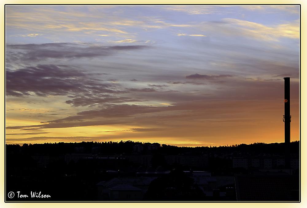 photoblog image Swedish Sunset