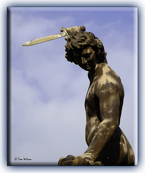 photoblog image Seaton Delaval - statue