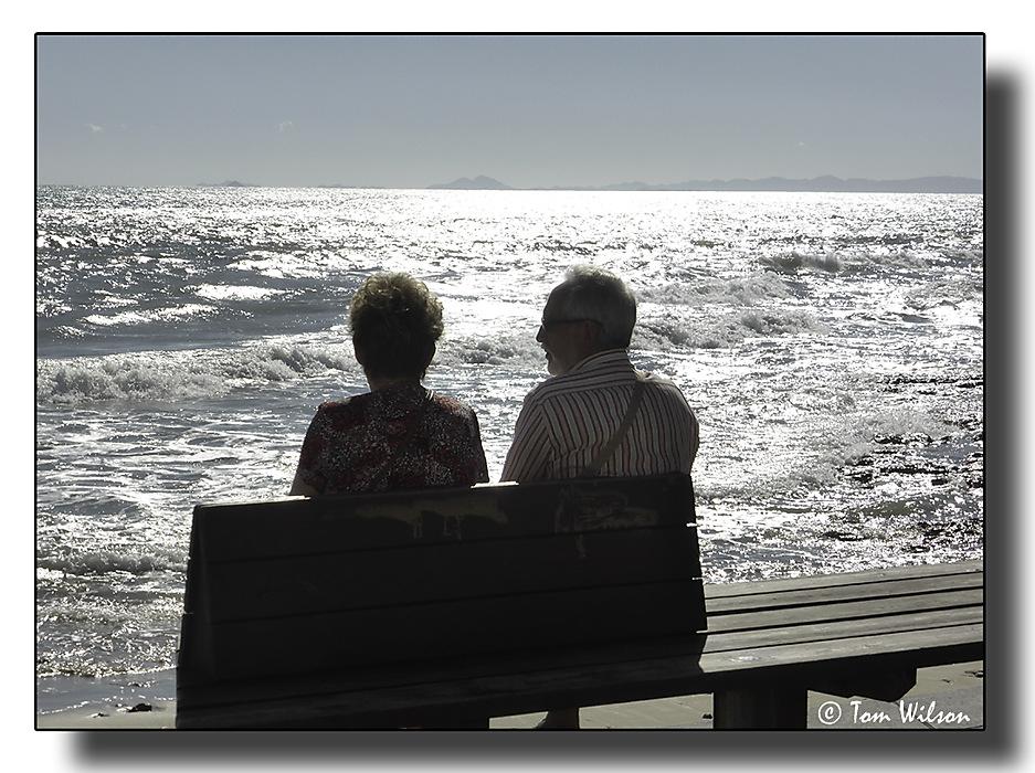 photoblog image The sea watchers
