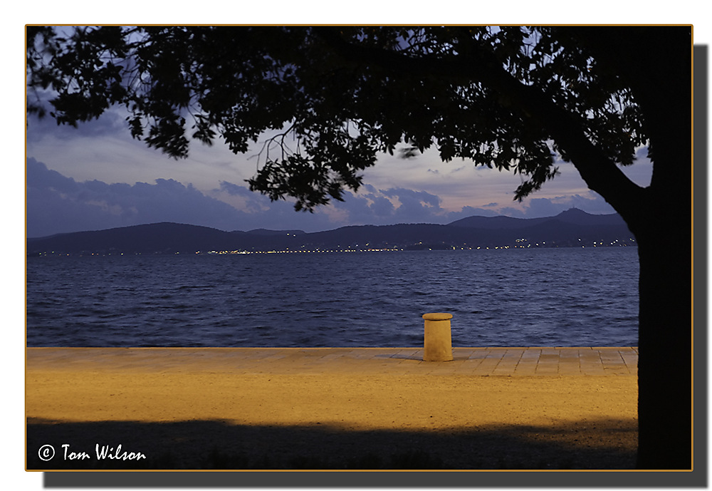photoblog image Zadar by night - 4