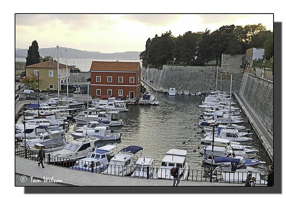 photoblog image Small Boat Harbour - Zadar