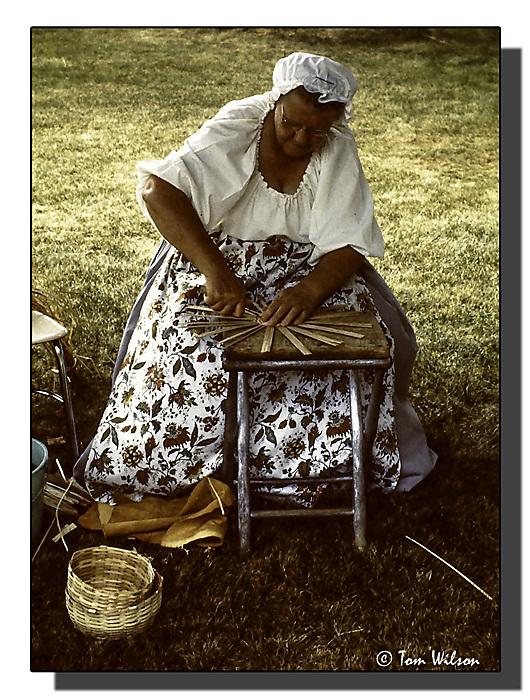 photoblog image Basket Maker