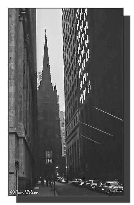 photoblog image Wall Street