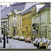 Budapest: a street in Buda